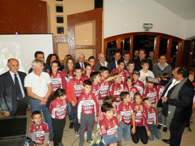 PEDALE OSSOLANO premiato ad Asti Festa Regionale Ciclismo Piemontese