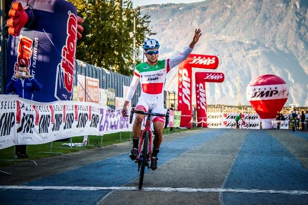 La vittoria del Tricolore Colledani (Foto Billiani)