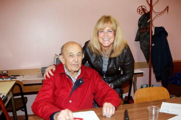 Gino Bruno con la figlia Silvia