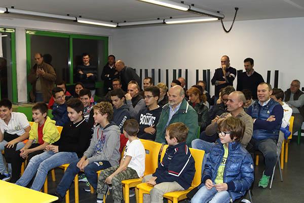 Sala incontro con la Giovani Giussanesi (Foto Kia Castelli)