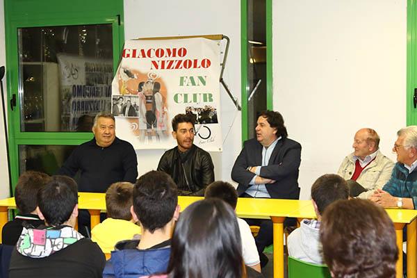 Giovanni Mauri all'estrema destra della foto (Foto Kia Castelli)