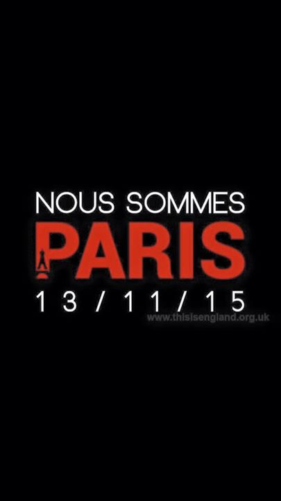 13.11.2015 - Noi siamo Parigi e Occidentali