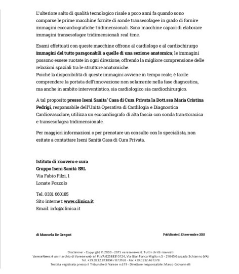 15.11.15 - 2^ - articolo varese news