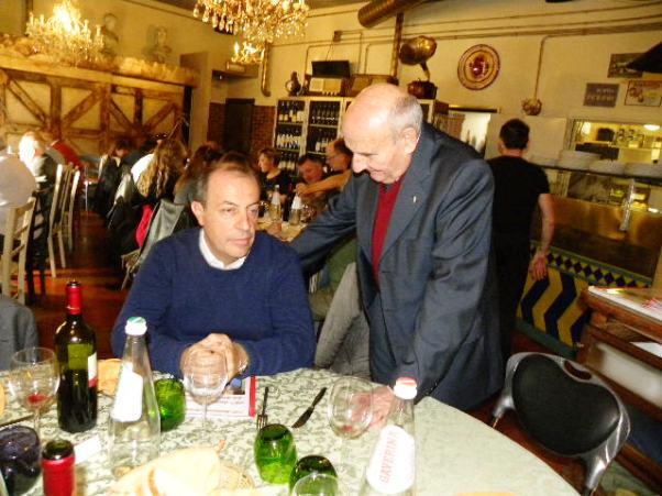 Brambilla qui con Franco Rigoldi (Foto Nastasi)