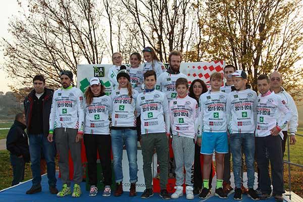 Tutti i leaders provvisori del Trofeo Lombardia-Piemonte (Foto di Kia Castelli)