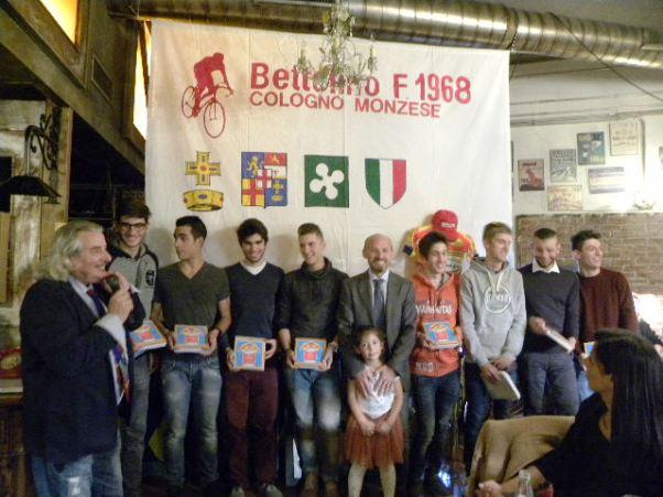 15.11.15 - Premiazione Corridori Juniores SC Bettolino Freddo