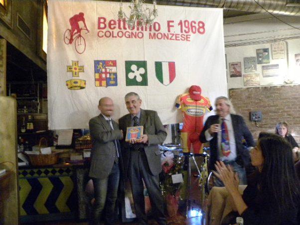Premiazione di Eugenio Salvoldi (Foto Nastasi)