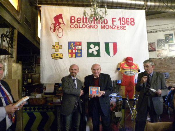 Premiazione di Franco Rigoldi (Foto Nastasi)
