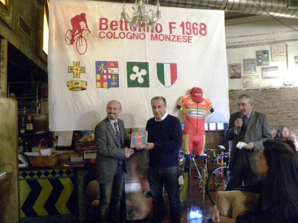 Premiazione di Sandro Brambilla (Foto Nastasi)