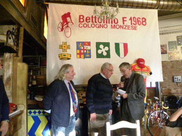 Gino Turati con Russomanno e Salvoldi (Foto Nastasi)