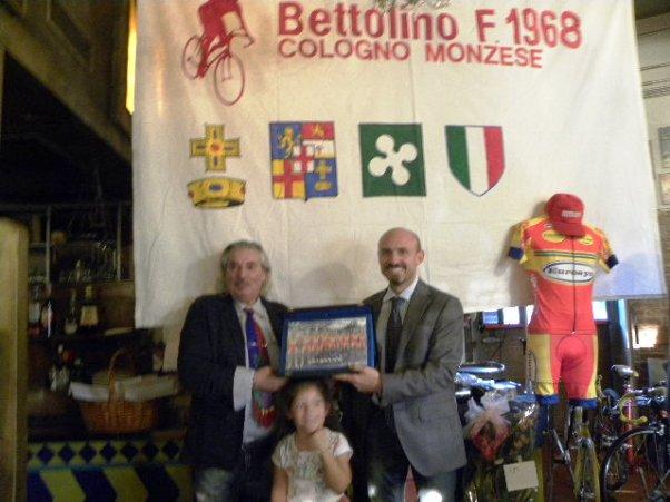 Russomanno col genero Campana e la nipotina (Foto Nastasi)
