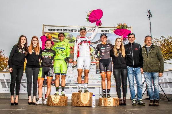 Podio Donne Open - 7^ Trofeo Citta^ di Schio (Foto Bolgan)