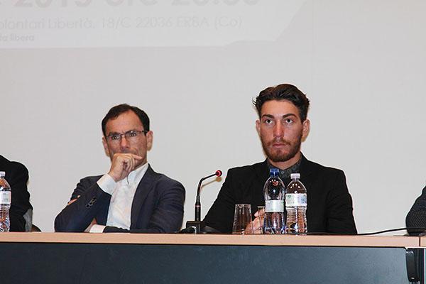 Da sx Davide Cassani e Giacomo Nizzolo (Foto Kia Castelli)