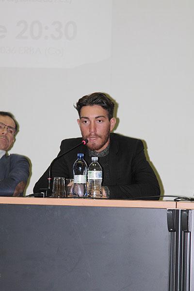 Primo piano di Giacomo Nizzolo (Foto di Kia Castelli)
