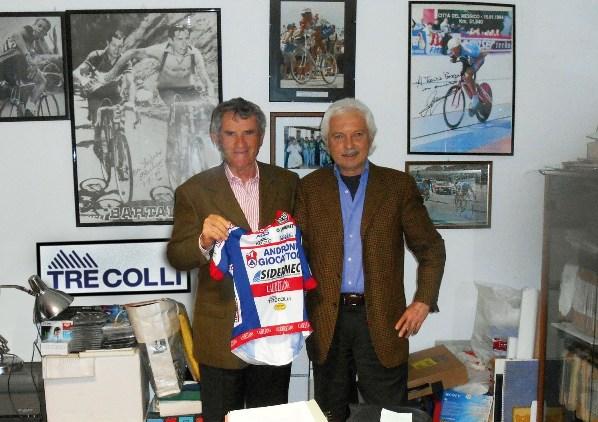 Tarcisio Persegona e Gianni Savio