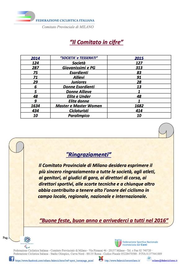19.11.15 - pag. 2 - Il Comitato in cifre