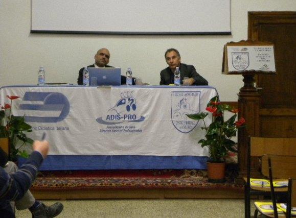 Da sx, il presidente Davide Goetz e Stefano Piccolo (Foto Nastasi)