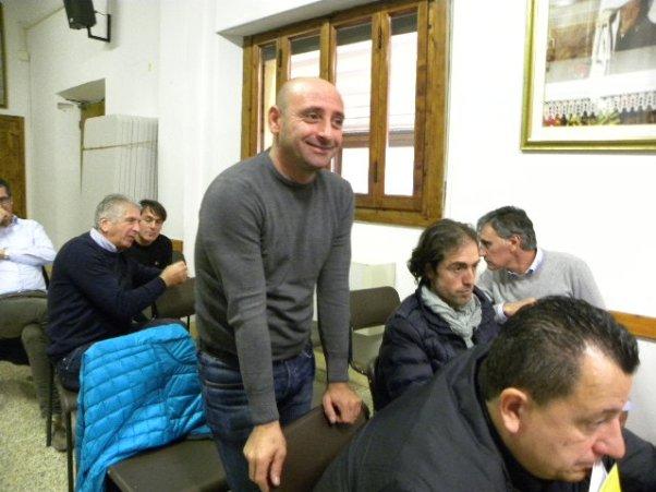 Paolo Bettini alla riunione dell'Adis-Pro alla Castellina (Foto Nastasi)