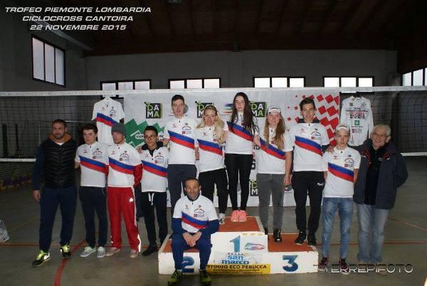I neo Campioni Regionali Piemontesi della specialità Ciclocross
