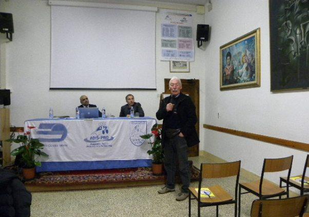 L'intervento di Angelo Lavarda (Foto Nastasi)