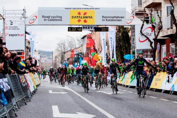 23.03.15 - Valverde vince ad Olot la 2^ tappa della Vuelta della Catalogna