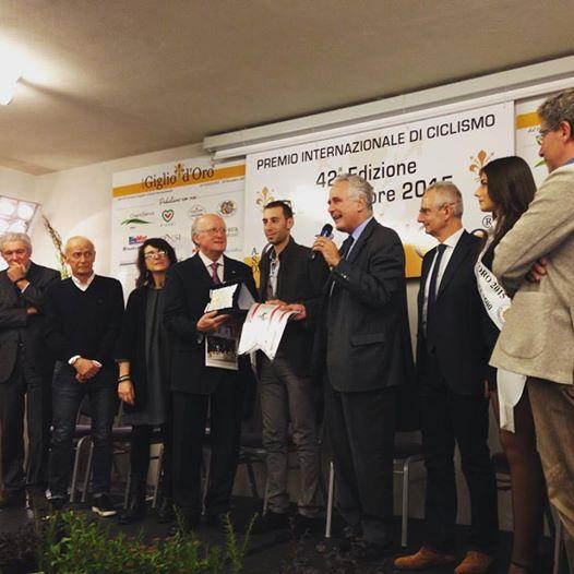 La Premiazione di Vincenzo Nibali