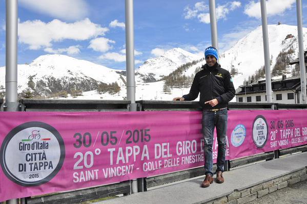 Fabio Aru al Sestriere (Foto Rcs-Gazzetta dello Sport)