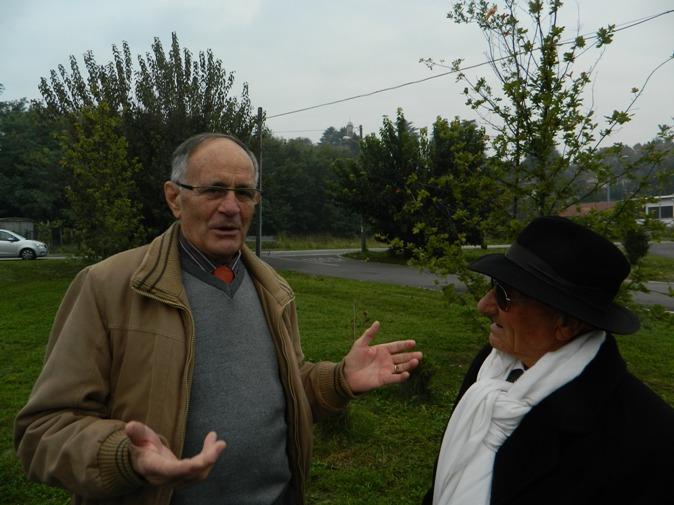 Severini Amerigo a dx e Renato Longo (Foto Danilo Cribio^)