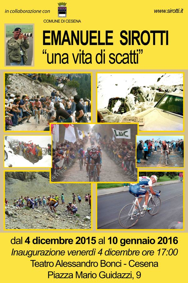 06.12.15 - LOCANDINA MOSTRA FOTOGRAFICA EMANUELE SIROTTI A CESENA