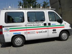 Furgone CR-FCI Emilia-Romagna (Foto Berry)
