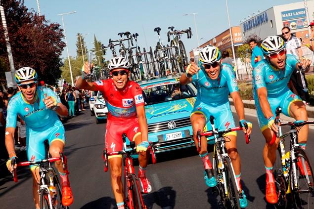 Vuelta Spagna 2015 - Fabio Aru Maglia Rossa