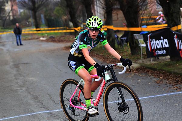 Jasmine Dotti vincitrice gara Donne Elite (Foto Soncini)