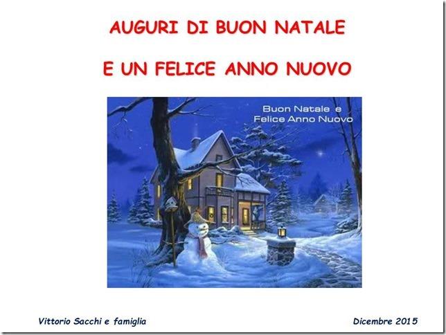 16.12.2015 - Auguri natalizi Vittorio Sacchi
