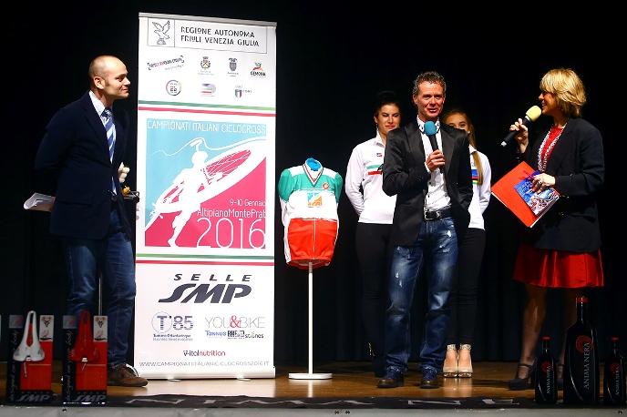 Presentazione Campionato Italiano ciclocross 2016