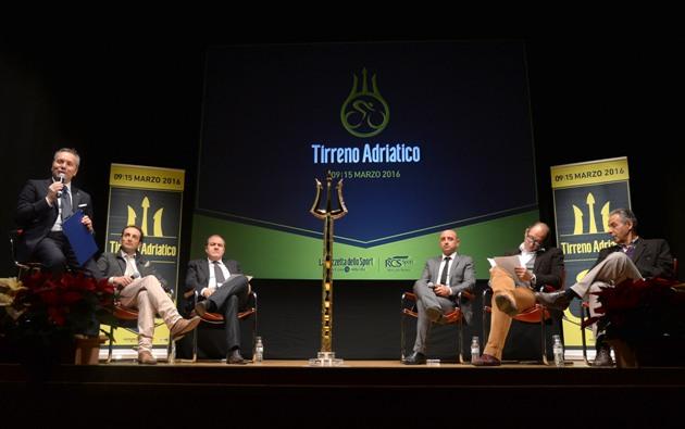 Stefano Bertolotti presentazione 51° Tirreno Adriatico (Anza-Zennaro)