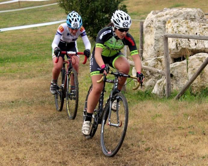 Ciclocrossisti in azione a Metaponto