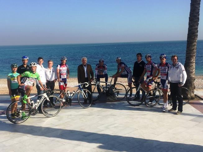 La Squadra Androni Giocattoli-Sidermec-TreColli in ritiro in Spagna