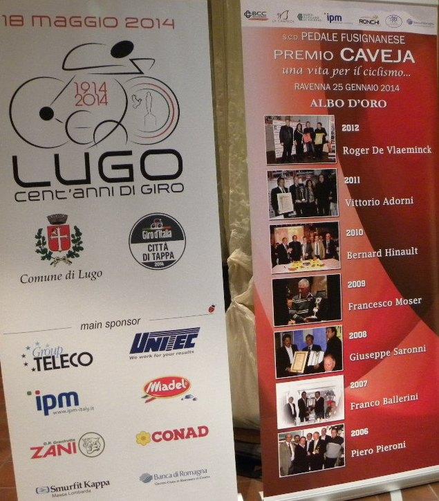 Albo d'Oro del Premio Caveja fino al 2012