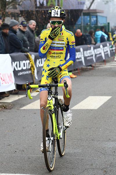 Luca Pescarmona 3^ classificato a Lurago D'Erba (Foto Kia Castelli)