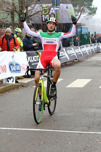 Loris Conca vincitore gara allievi 2^ anno (Foto Kia Castelli)