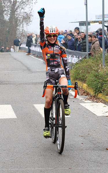 Lucia Bramati vince a Lurago Erba (Foto Kia Castelli)