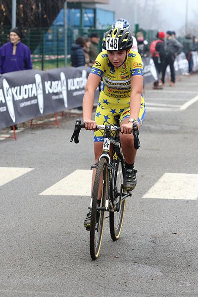 Giulia Bertoni, 3^ classificata a Lurago Erba (Foto Kia Castelli)