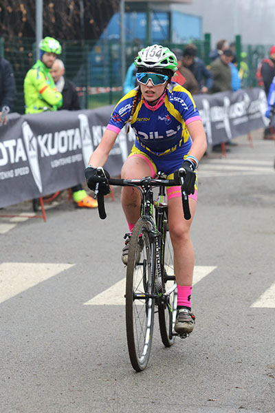 Letizia Motalli, 2^ classificata a Lurago Erba (Foto Kia Castelli)