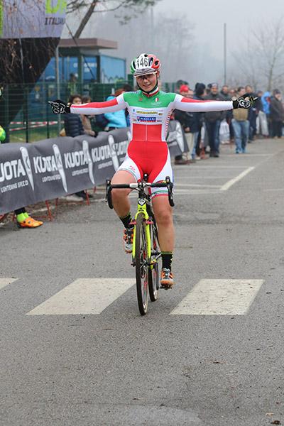 Nicole Fede vince a Lurago D'Erba (Foto Kia Castelli)