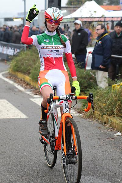 La Tricolore Donne Esordienti, Marta Zanga, seconda classificata a Lurago Erba (Foto Kia Castelli)