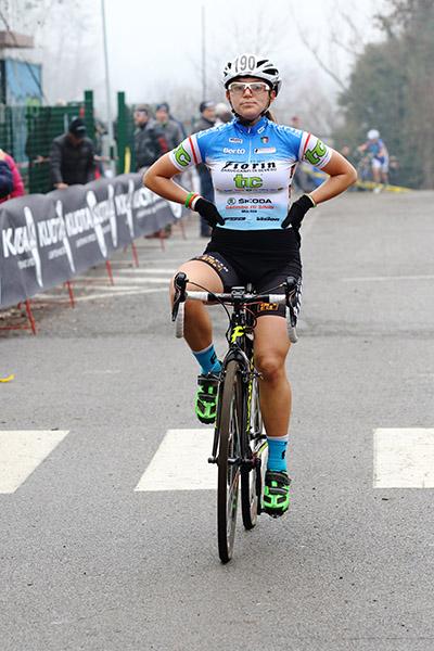 Sara Fiorin, terza nella X° prova del Trofeo Piemonte-Lombardia (Foto Kia Castelli)