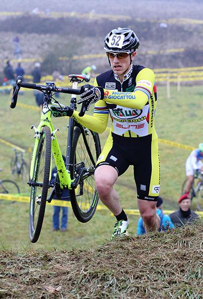 Lorenzo Calloni vincitore gara Juniores (Foto Kia)