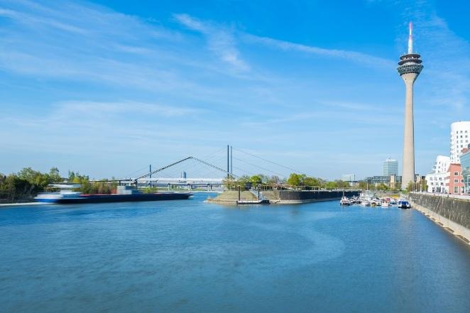 Dusseldorf - Il suo porto