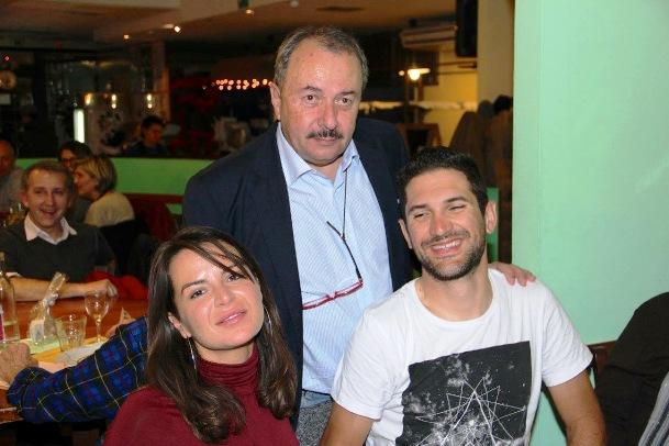 Cav. Otello Zama con Alan Marangoni (Foto Mauro Benini)