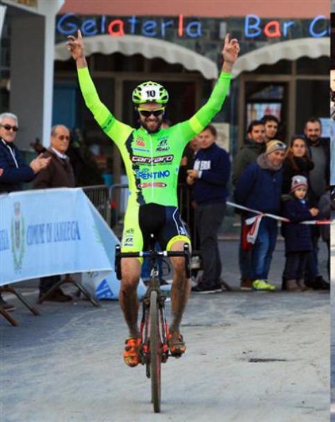 Giuseppe Lamastra vince la prova Open a Laigueglia (Foto Soncini)